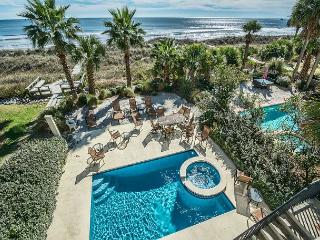 Guscio 7, Luxury 7 Bedrooms, Ocean Front, Elevator, Private Pool, Sleeps 24 - Hilton Head vacation rentals