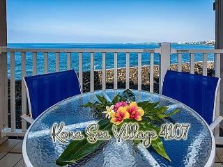 Oceanfront 2 bedroom ground floor condo with amazing Ocean views - Kailua-Kona vacation rentals