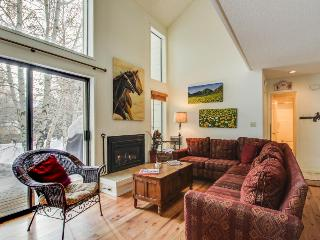 A shared pool & hot tub, ski-in/ski-out from the base of the Elkhorn lift! - Sun Valley vacation rentals