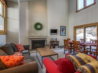 Great mountain condo w/ shared pool & sauna, just two blocks from Baldy lifts! - Ketchum vacation rentals