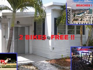 AIRPORT FLL!Casino! beach! 2 bikes! - Hallandale vacation rentals