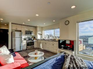 Nautical, dog-friendly studio with amazing views, close to Pioneer Square! - Seattle vacation rentals