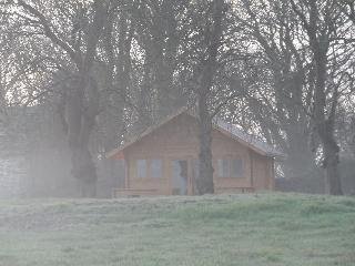 Secluded beautiful log cabin in its own field - Llanfairpwllgwyngyll vacation rentals