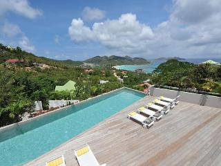 Spacious Hillside Villa with Sweeping Views of Saint Jean Bay - Saint Jean vacation rentals