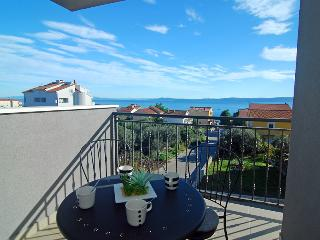 Sea view two-bedroom apartment near Trogir - Okrug Gornji vacation rentals