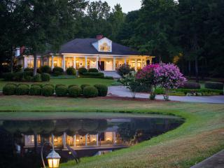 23 ac. Estate on Lake Oconee, Weddings, Big Groups - Eatonton vacation rentals