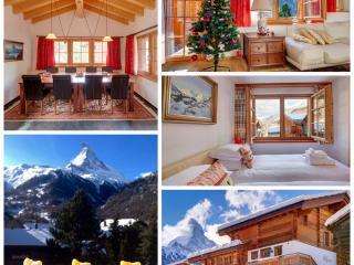 5*Chalet Ulysse 170m2 /8 Gäste/Cheminée und Sauna - Zermatt vacation rentals