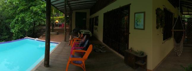 Panoramic view of the pool, terraces and balconies!!! - Villa Pochote the forest at your fingertips! - Montezuma - rentals