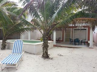 BeachFront House, furnished, security24/7 - Chicxulub vacation rentals