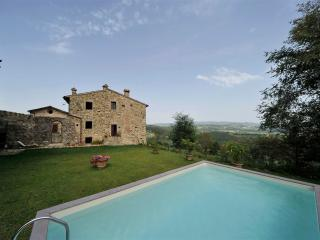 Chianti Villa with Guest Cottage and Beautiful Views  - Casa Betulla - Badia a Passignano vacation rentals