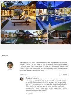 Bright 4 bedroom Villa in Canggu - Canggu vacation rentals