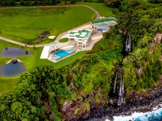 Epic Big Island Vacation Rental Boasting a Double Waterfall, Golf Course and Helicopter Pad! - Hilo vacation rentals