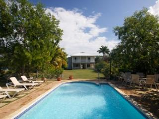 Coral Cove Villa shares a delightful waterfront on the clear waters of Discovery Bay - Discovery Bay vacation rentals