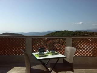 Maison et terrasse 2 personnes vue panoramique - Belesta vacation rentals
