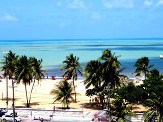 Atlantic View Beach apt; 5th floor ;great sea view - Joao Pessoa vacation rentals
