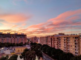 7th floor apartment with balcony and city views. - Valencia vacation rentals