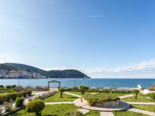 Del Sol, Villa Apartment across sea, pool & Tennis - Potami vacation rentals