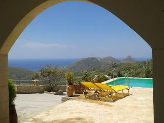 2 Bedroom Villa with amazing view the Libyan Sea! - Spili vacation rentals