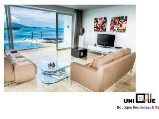 Unique Sea View Duplex - Chaweng vacation rentals