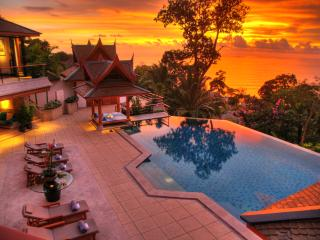 Elegant pool villa with stunning sea views - Surin vacation rentals
