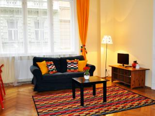Spacious 2-bedroom apt with balcony - Prague vacation rentals