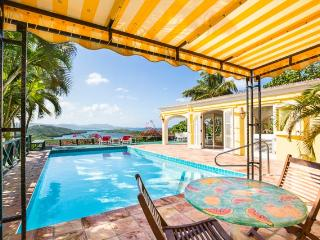Spectacular Hilltop Home, Views Of Caribbean Sea, Altona Lagoon & North Shore!! - Christiansted vacation rentals