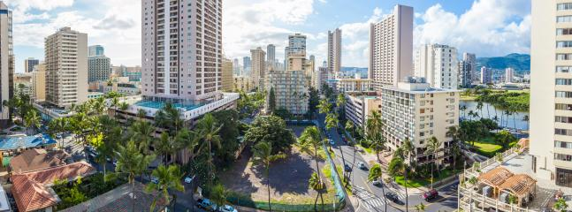 12 Floor View - In the Heart of Waikiki - Honolulu - rentals