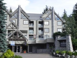 Wildwood Lodge as viewed from the street (summer) - Elmer and Hellen Anuik - Whistler - rentals