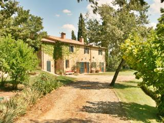 Luxury private villa with pool and beautiful views - Subbiano vacation rentals
