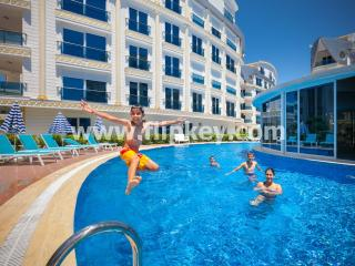 Luxury 3BR duplex apartments for family holidays at Melda Palace - Antalya vacation rentals