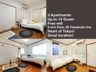 3APT In Harajuku/Shibuya For Big Group - Shibuya vacation rentals