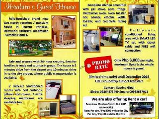 Nice Guest house with A/C and Microwave - Puerto Princesa vacation rentals