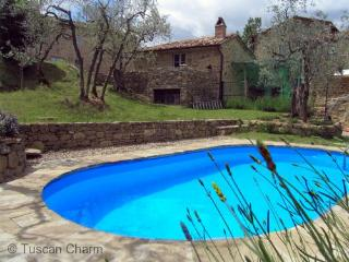 Capuchi  Cottage    -     Just for Two  .... - Tuscan Studio Cottage with Private Pool and Air Conditoning - Castiglion Fiorentino vacation rentals