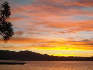 Come for the cool days and the beautiful sunsets - Big Bear Lake vacation rentals