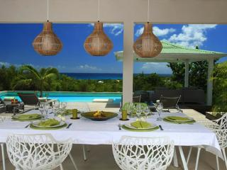Spacious and elegant 3 bedroom villa overlooking the caribbean sea - Cupecoy vacation rentals