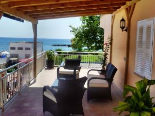 Apartment sea view 20 mtrs from beach - Cala Bona vacation rentals