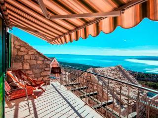 Romantic stone house TONIAII with wonderfulseaview - Brela vacation rentals