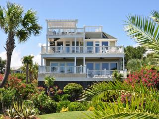 Oceanfront Home with Pool, Spa, Large Porches and Private Beach Access! - Isle of Palms vacation rentals