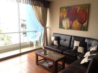 MIRAFLORES furnished  wi-fi Balcony Laundry - Lima vacation rentals