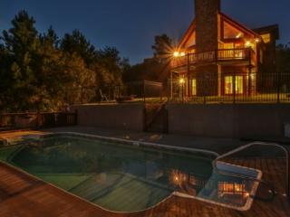 Large Blue Ridge Cabin with great mountain views and a POOL - Mineral Bluff vacation rentals
