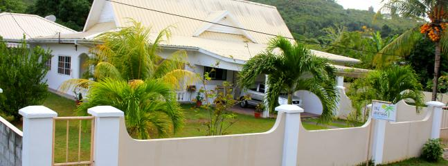 Main House with garden and Car park - Chez Augustine Self Cathering Apt. - Mahe Island - rentals