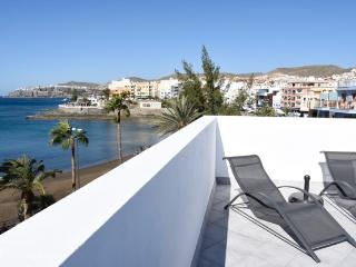 Luxury flat with terrace and jacuzzi - Arguineguin vacation rentals