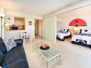 STEPS TO WAIKIKI BEACH 1 bdrm, 1 bath, 2 beds - Honolulu vacation rentals