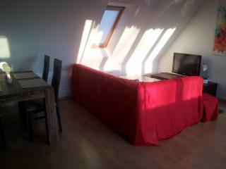 3-Zimmer Dachgeschoßwohnung zentral - Augsburg vacation rentals