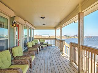 Lakefront 3BR New Orleans House w/Private Dock, Enormous Deck & Stunning Views of Lakes Pontchartrain & St. Catherine – 30 Miles From Downtown New Orleans - Pearlington vacation rentals