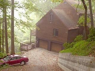 Asheville private cedar lodge eye-popping vistas - Asheville vacation rentals