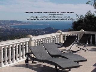 Chambres d'hôtes Estérel vue mer baie de Cannes et montagnes - Les Adrets-de-l'Esterel vacation rentals