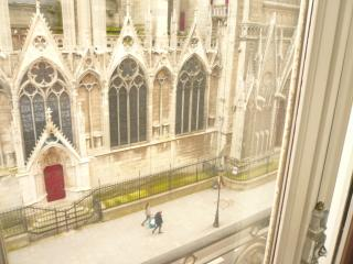 3 bedroom property : Plunging view on Notre-Dame - Paris vacation rentals