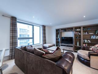 Riverside Apartments -2 bed, 2 bath, lift, parking - Edinburgh vacation rentals