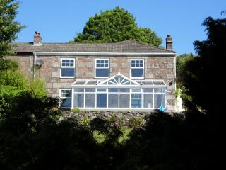 Cornish Cottage with Garden, Pool, & Fabulous South-Facing Country Views - Lanner vacation rentals